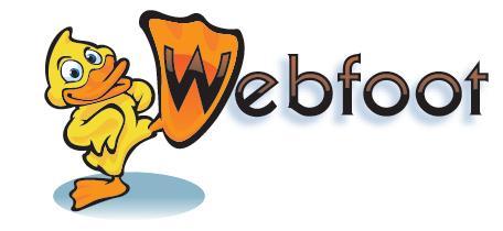 Webfoot Banner